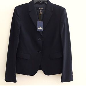 Brooks Brothers Classic Fit 2 Button Black Jacket
